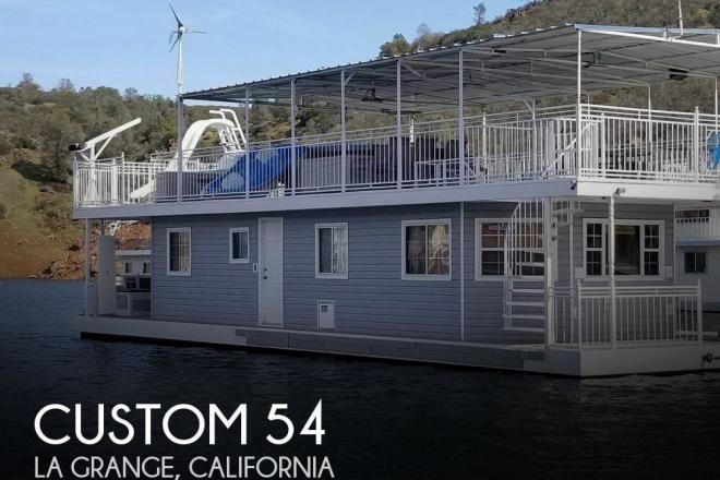 2003 Custom Built 20 x 54 Lake McClure Houseboat - For Sale at Mariposa, CA 95338 - ID 142790