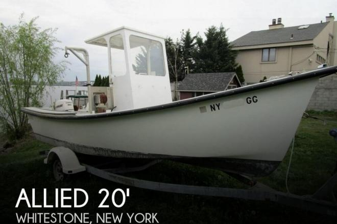 2012 Allied Boat Works 20 Fisherman - For Sale at Whitestone, NY 11357 - ID 140837