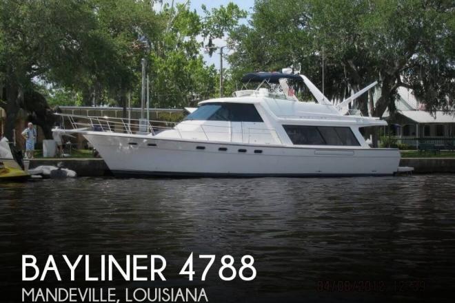2000 Bayliner 4788 Pilot House Motoryacht - For Sale at Mandeville, LA 70448 - ID 143000