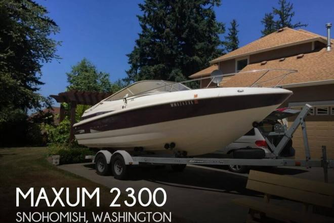 1999 Maxum 2300 - For Sale at Snohomish, WA 98290 - ID 126686