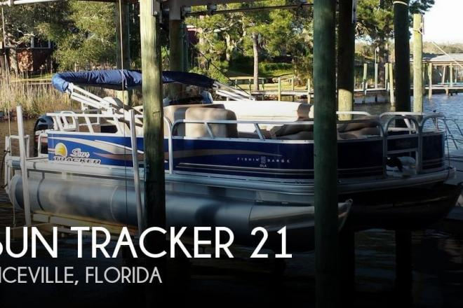 2014 Sun Tracker Fishin' Barge 20 DLX - For Sale at Niceville, FL 32578 - ID 143226