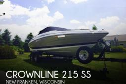 2014 Crownline 215 SS