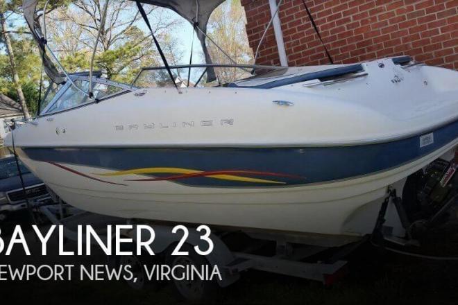2001 Bayliner Capri 232 LX - For Sale at Newport News, VA 23602 - ID 143345