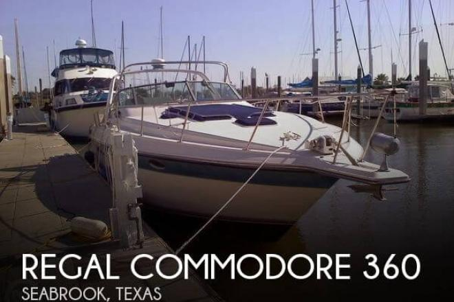 1991 Regal Commodore 360 - For Sale at Seabrook, TX 77586 - ID 58413