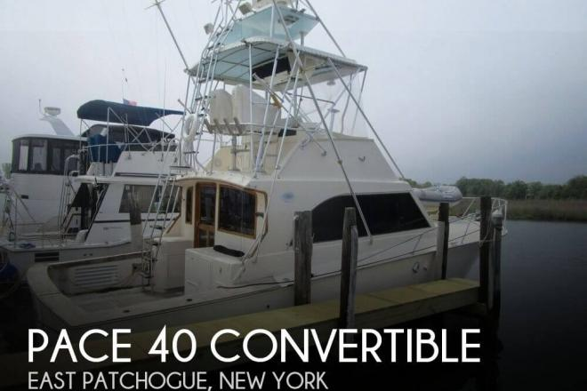 1989 Pace 40 Convertible - For Sale at East Patchogue, NY 11772 - ID 41318