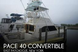 1989 Pace 40 Convertible