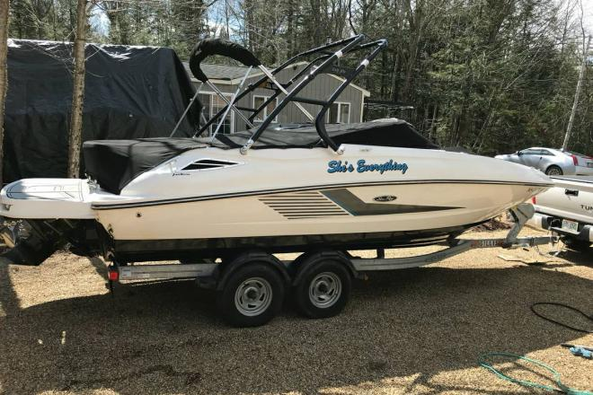 2013 Sea Ray 240 Sundeck - For Sale at Sanbornton, NH 3269 - ID 143914
