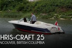 2005 Chris Craft Corsair 25