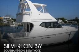 2010 Silverton 36 Convertible