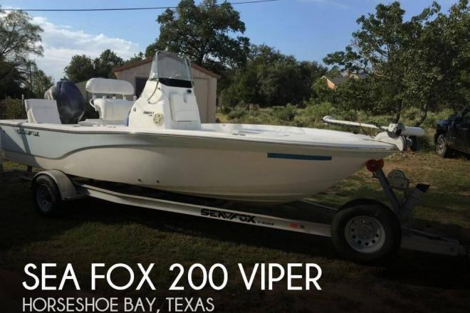 2013 Sea Fox 200 Viper - For Sale at Horseshoe Bay, TX 78657 - ID 100568