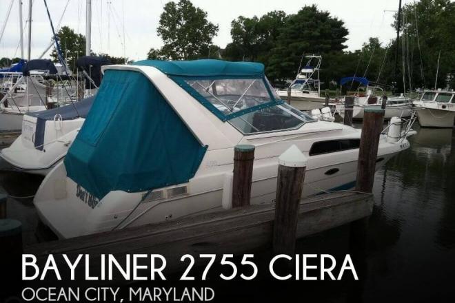 1993 Bayliner Ciera Sunbridge 2755 - For Sale at Ocean City, MD 21842 - ID 144152