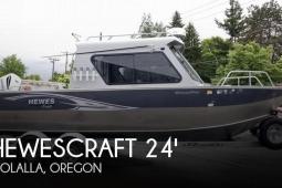 2014 Hewescraft 24 Ocean Pro