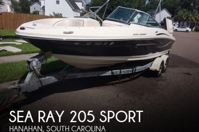 2010 Sea Ray 205 Sport - For Sale at Hanahan, SC 29410 - ID 47360