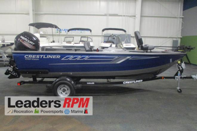 2018 Crestliner 1700 Vision - For Sale at Kalamazoo, MI 49019 - ID 132582