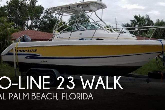 2001 Pro Line 23 Walk - For Sale at West Palm Beach, FL 33415 - ID 143620