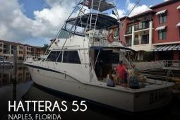1981 Hatteras 55 Flybridge Convertible