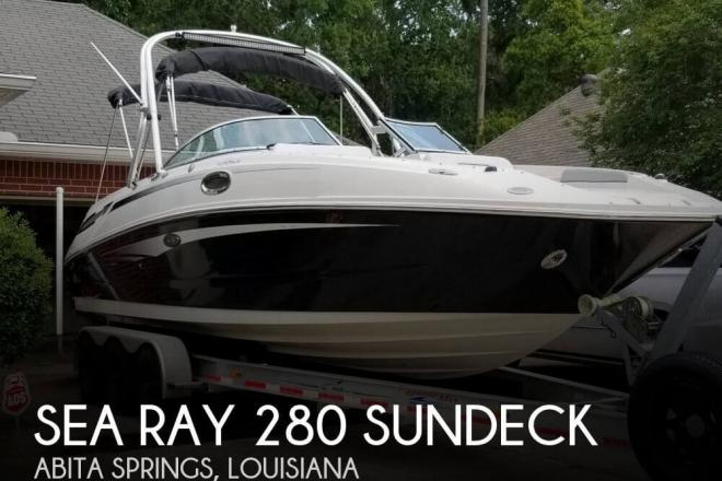 2010 Sea Ray 280 Sundeck - For Sale at Abita Springs, LA 70420 - ID 144051