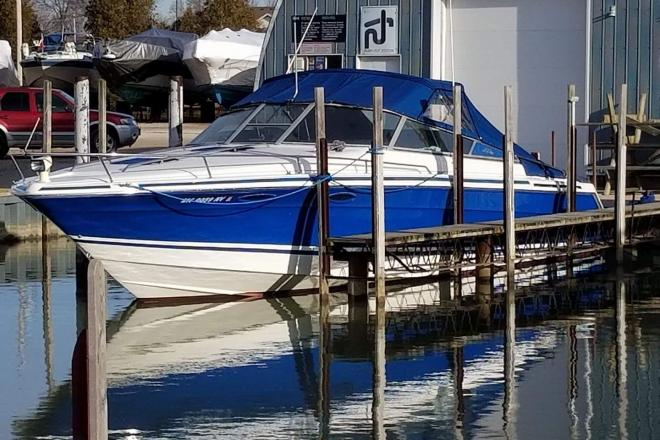 1990 Sea Ray 370 Sun Sport - For Sale at Gibraltar, MI 48173 - ID 144757