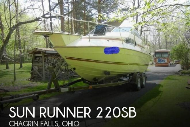 1985 Sun Runner 220 SB - For Sale at Chagrin Falls, OH 44023 - ID 144112