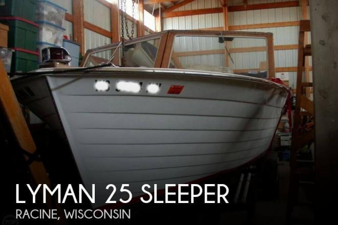 1965 Lyman 25 sleeper - For Sale at Racine, WI 53401 - ID 144772