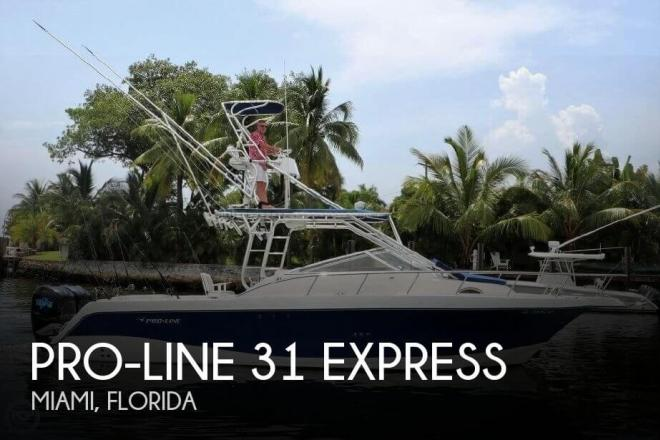 2006 Pro Line 31 Express - For Sale at Miami, FL 33177 - ID 115441