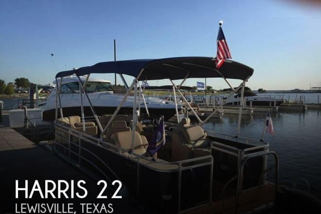 2015 Harris Flotetbote Cruiser 220 - For Sale at Lewisville, TX 75029 - ID 145166
