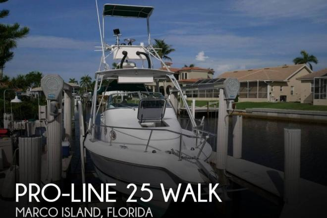 2000 Pro Line 25 Walk - For Sale at Marco Island, FL 34145 - ID 144322