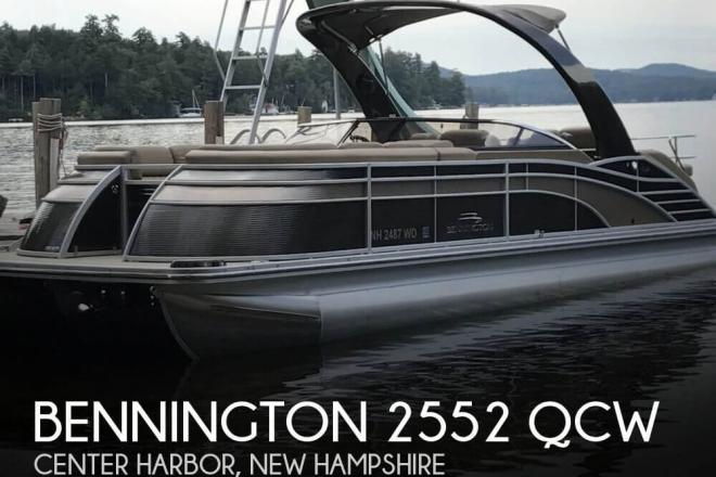 2016 Bennington 2552 QCW - For Sale at Center Harbor, NH 3226 - ID 129321