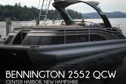 2016 Bennington 2552 QCW
