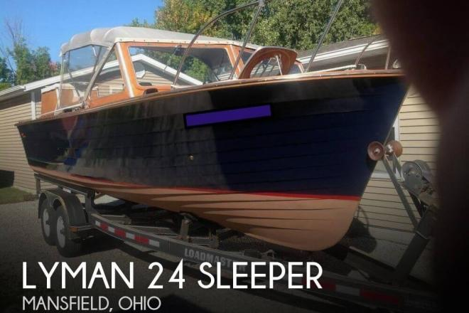 1962 Lyman 24 Sleeper - For Sale at Mansfield, OH 44901 - ID 145167
