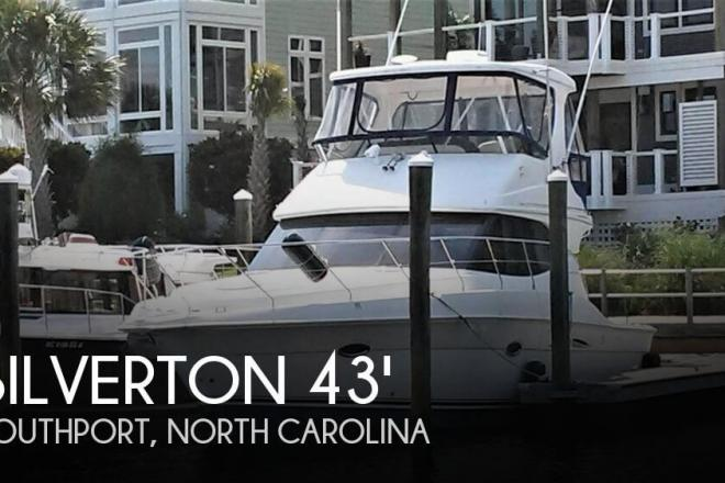 2005 Silverton 38 Convertible with Sportpak - For Sale at Southport, NC 28461 - ID 143553