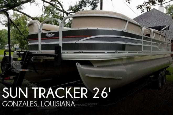 2015 Sun Tracker Party Barge 24 DLX Signature Series - For Sale at Gonzales, LA 70737 - ID 130587