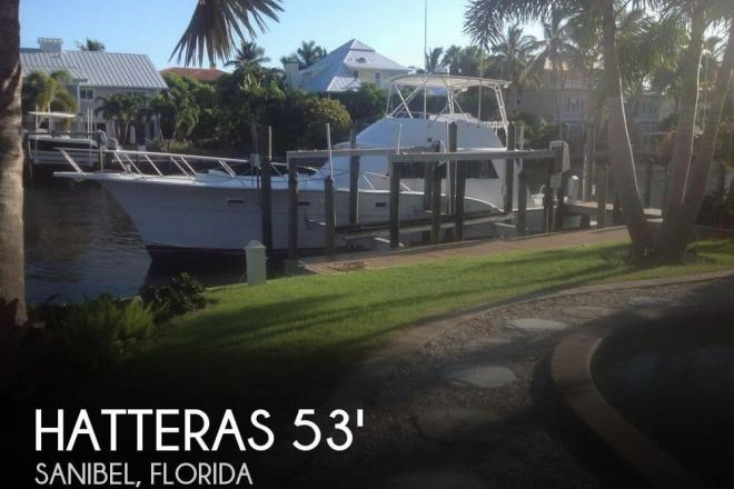 1978 Hatteras 53 Convertible - For Sale at Sanibel, FL 33957 - ID 103761