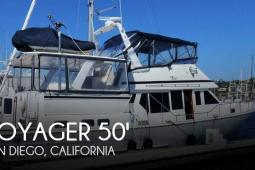 1990 Voyager 50 Aft Cabin Yachtfisher