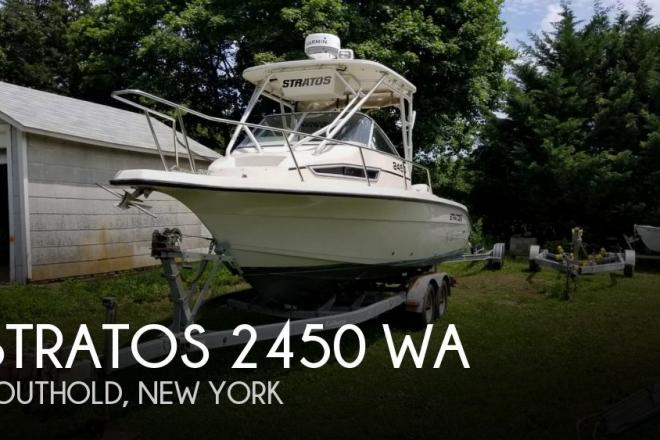 1992 Stratos 2450 WA - For Sale at Southold, NY 11971 - ID 144901