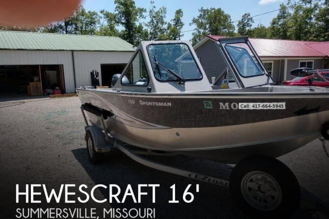 2015 Hewescraft 160 Sportsman - For Sale at Summersville, MO 65571 - ID 144838
