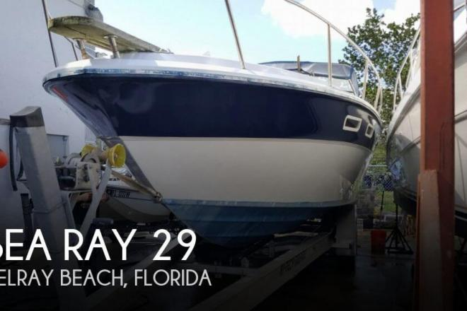 1977 Sea Ray 300 Weekender - For Sale at Delray Beach, FL 33444 - ID 146440