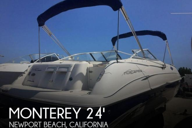 2001 Monterey Explorer 240 Sport - For Sale at Newport Beach, CA 92658 - ID 130661