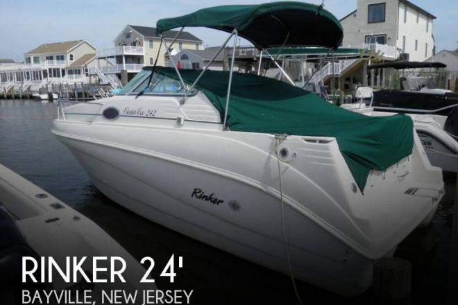 1999 Rinker 242 Fiesta Vee - For Sale at Bayville, NJ 8721 - ID 146847