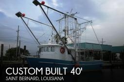 2011 Custom Built All Aluminum 40 x 16 Shrimper Skimmer
