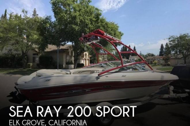 2005 Sea Ray 200 Sport - For Sale at Elk Grove, CA 95757 - ID 146358