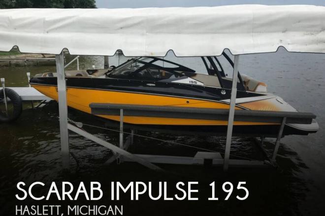 2015 Scarab Impulse 195 - For Sale at Haslett, MI 48840 - ID 147318