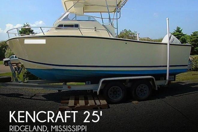 1993 Kencraft Challenger 250 Cuddy - For Sale at Madison, MS 39110 - ID 147279