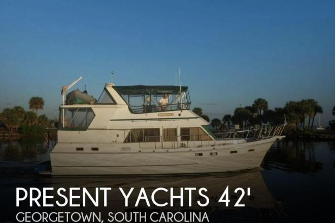 1986 Present Sundeck 42 - For Sale at Georgetown, SC 29440 - ID 144840