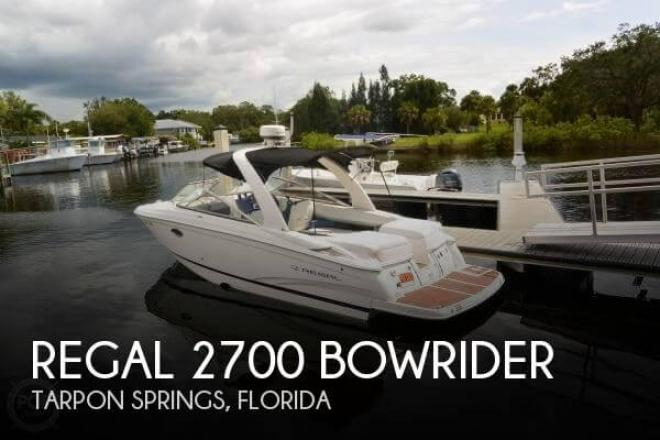 2011 Regal 2700 Bowrider - For Sale at Zephyrhills, FL 33541 - ID 144161