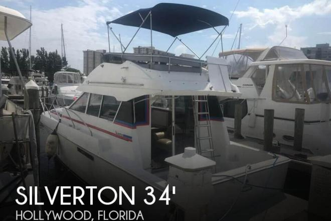 1995 Silverton Convertible 34 - For Sale at Sunny Isles Beach, FL 33160 - ID 144961