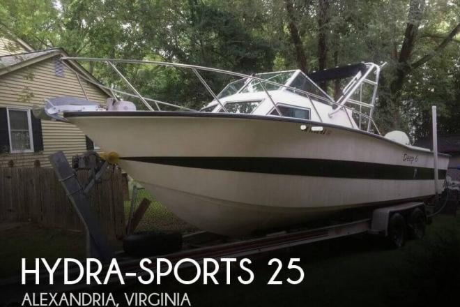 1986 Hydra Sports 25 WA - For Sale at Alexandria, VA 22313 - ID 147917