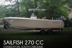 2017 Sailfish 270 CC