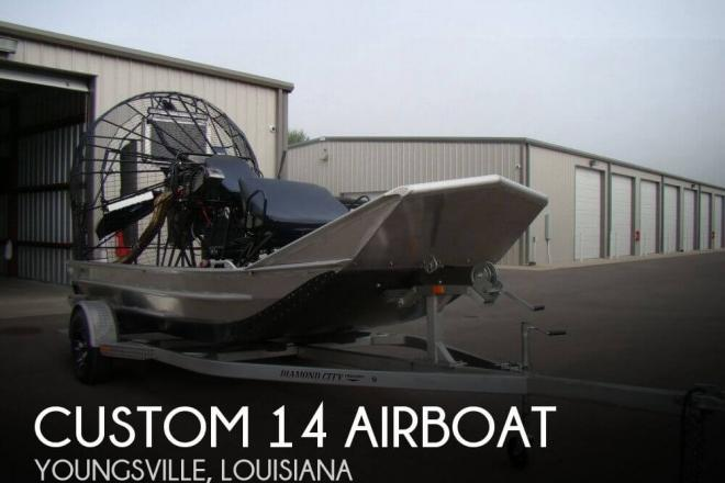 2017 Custom Built 14 Airboat - For Sale at Youngsville, LA 70592 - ID 131457