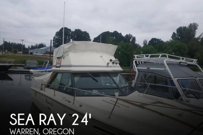 1977 Sea Ray SRV 240 Sedan bridge - For Sale at Warren, OR 97053 - ID 146419